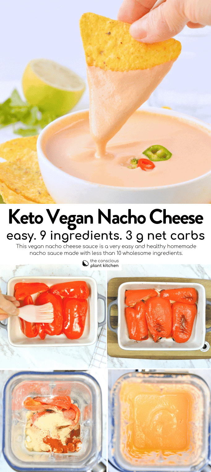 Vegan Cheese dip for vegetables