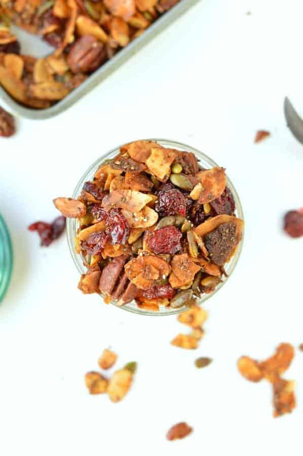 Vegan gluten free granola recipe