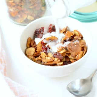 Grain free keto granola recipe