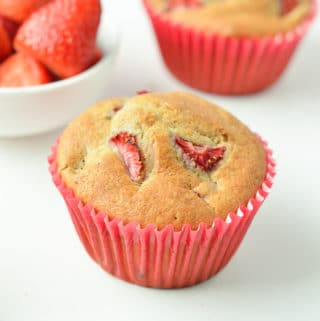 Vegan Strawberry Muffin