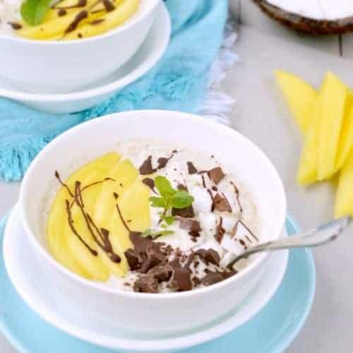 VEGAN COCONUT OVERNIGHTS OATS an healthy creamy breakfast #coconutovernightoats #overnightoats #veganbreakfast #veganovernightoats #veganhealthyrecipes #veganrecipes #healthyveganrecipes