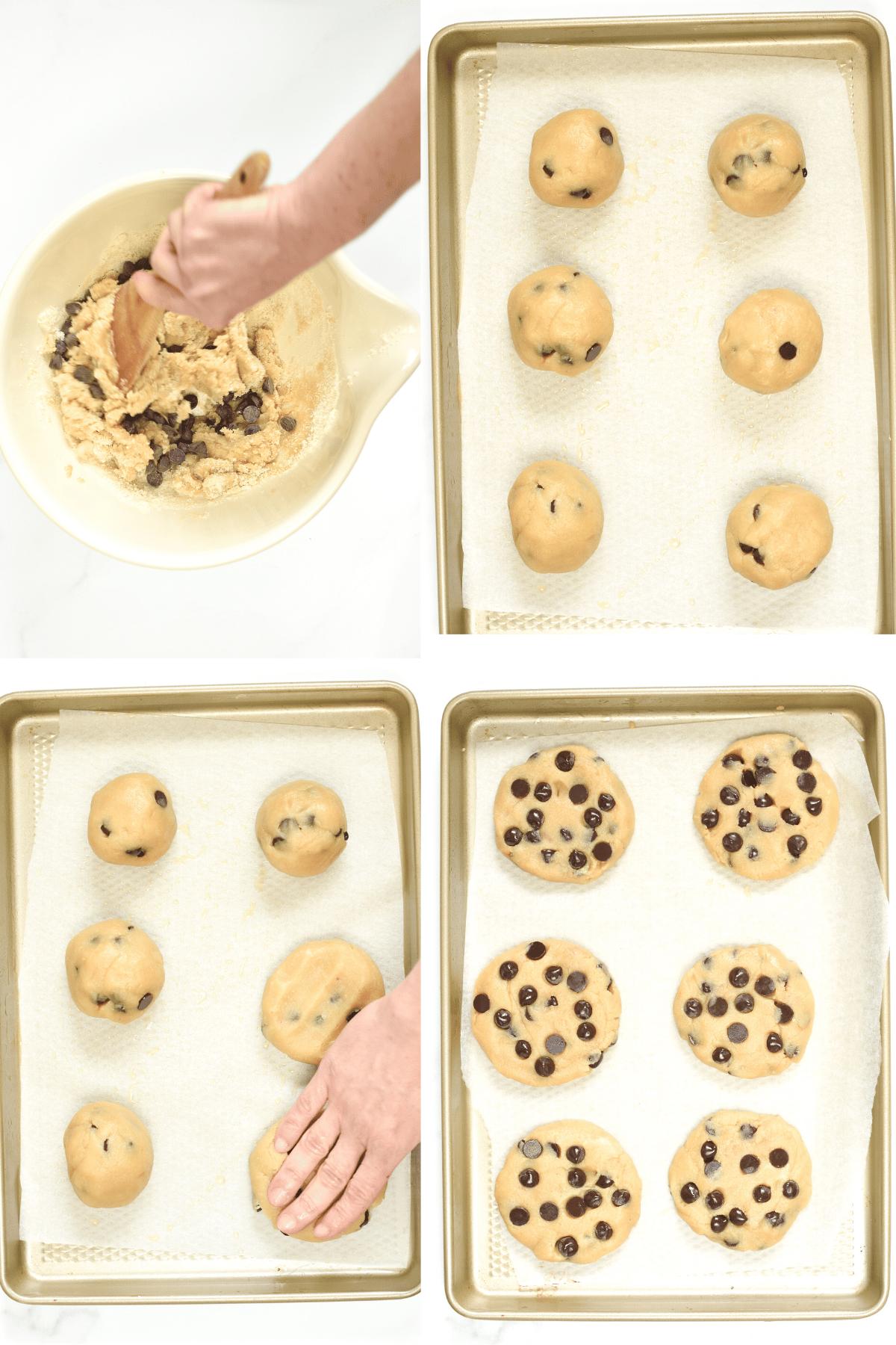 How to make healthy tahini cookies
