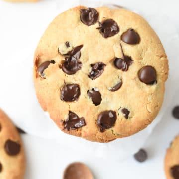 Tahini Cookies with almond flour