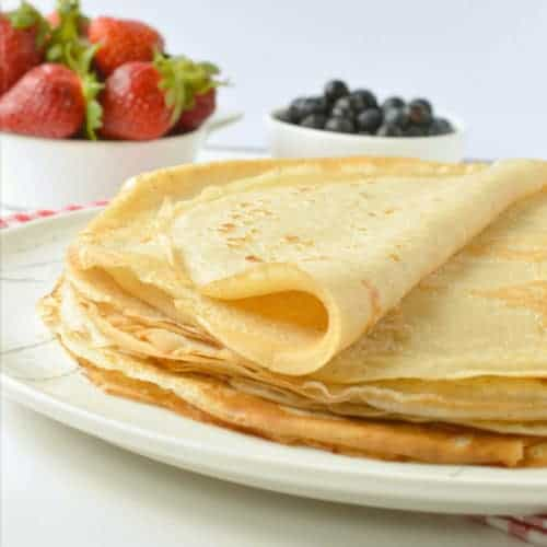 Easy Vegan Crepes Recipe Eggless Crepes The Conscious Plant Kitchen