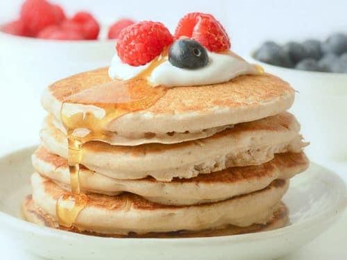 VEGAN BUCKWHEAT PANCAKES GLUTEN FREE #veganbuckwheatpancakes #buckwheatpancakes #glutenfreepancakes #veganglutenfreepancakes #pancakes #veganpancakes #healthypancakes #easypancakes #veganbreakfast #vegan #buckwheatflour #buckwheat #glutenfreebreakfast #healthybreakfast