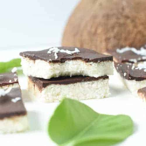easy no bake coconut bars