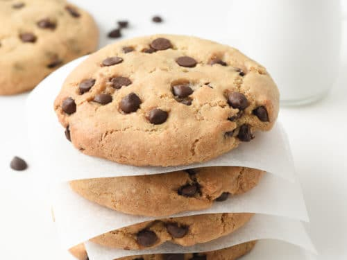 vegan chocolate chips cookies
