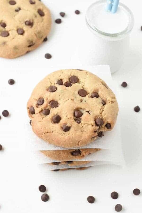 vegan chocolate chips cookies (6)