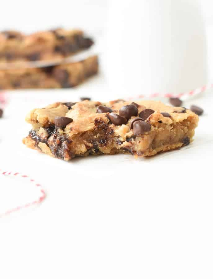 chickpea protein blondies