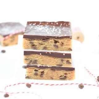 Cookie dough bars