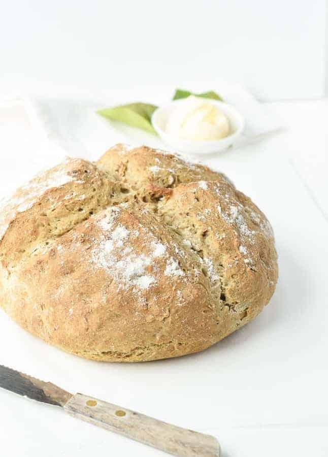 Vegan Irish Soda Bread Only 5 Ingredients The Conscious Plant Kitchen
