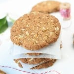 HEALTHY ANZAC COOKIES RECIE