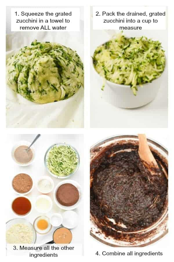 How to make zucchini brownies