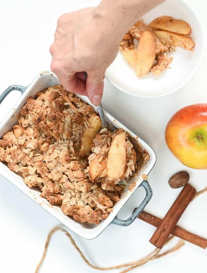 Vegan Gluten free apple crispVegan Gluten free apple crisp