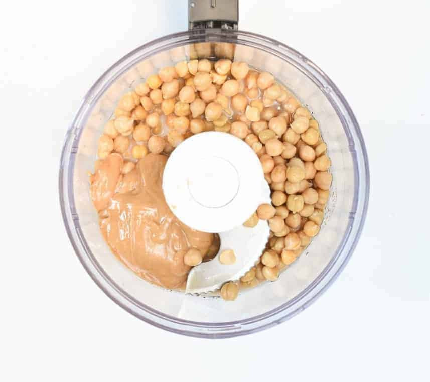 Chickpea cookie dough ingredient