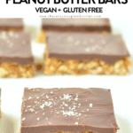 No bake healthy oatmeal peanut butter bars