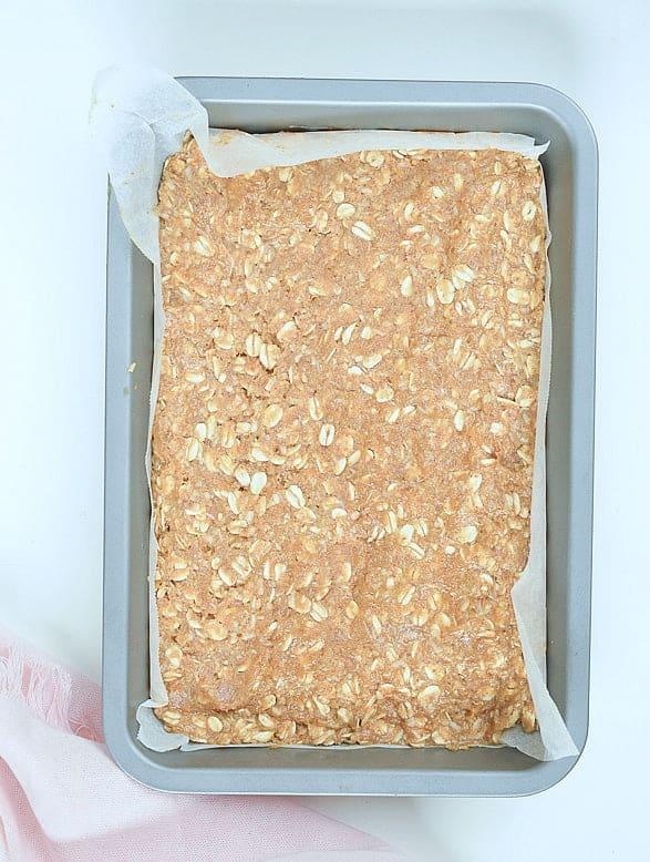 Vegan oatmeal bars