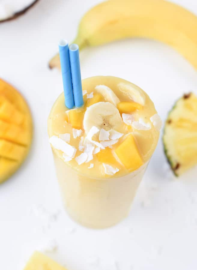 dairy free tropical smoothie