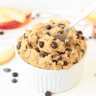 healthy chickpea cookie dough