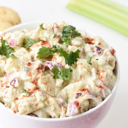Healthy Vegan Potato Salad