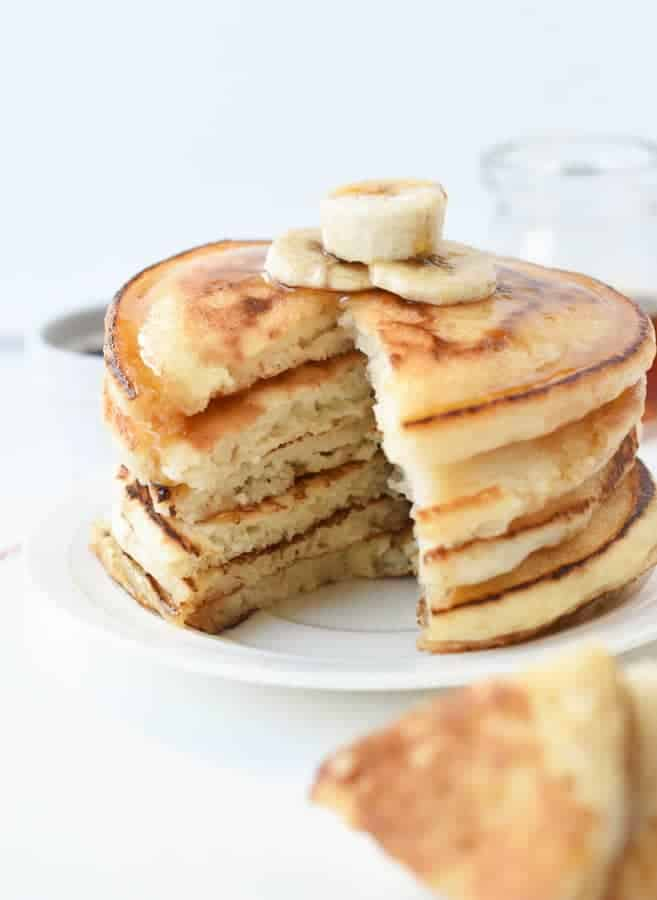 Super Simple vegan pancakes recipe