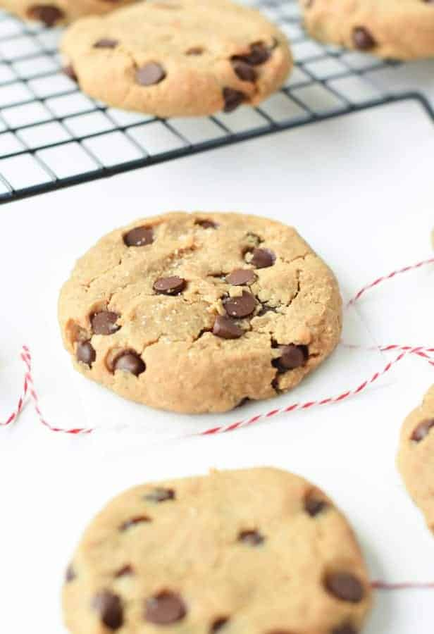 Chickpea Peanut Butter Chocolate Chip Cookies 38