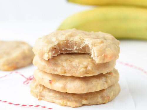 Easy Banana Cookies