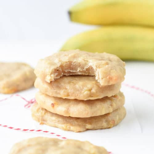 Easy Banana Cookies