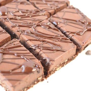 No bake chocolate cheesecake dairy free