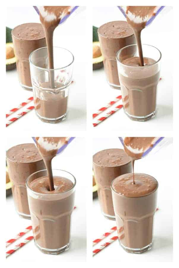the BEST Vegan Chocolate Milkshake