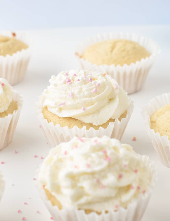 Egg free cupcake recipe