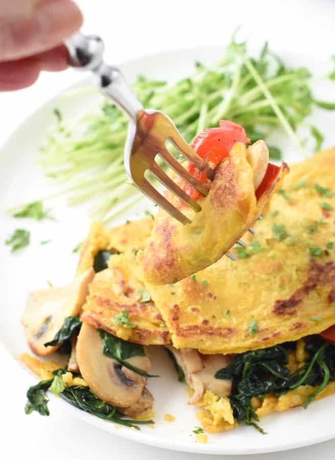 egg free omelette