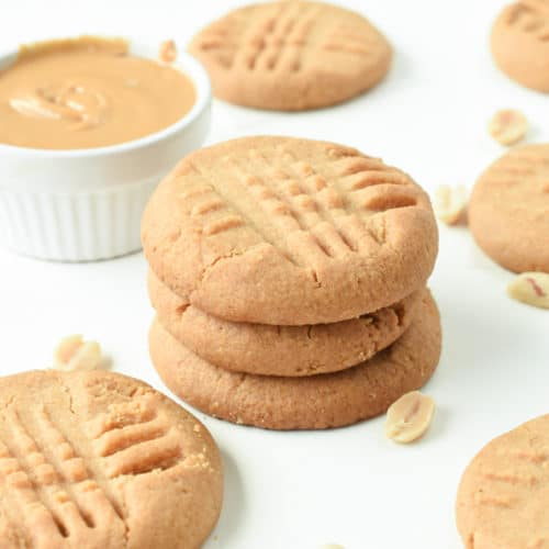 gluten free peanut butter cookies with gluten free flour