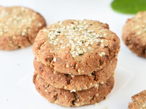 Hemp hearts cookies