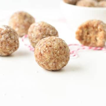 Raw Salted caramel bliss balls