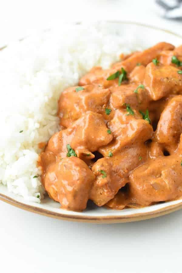 Vegan Butter Chicken Curry