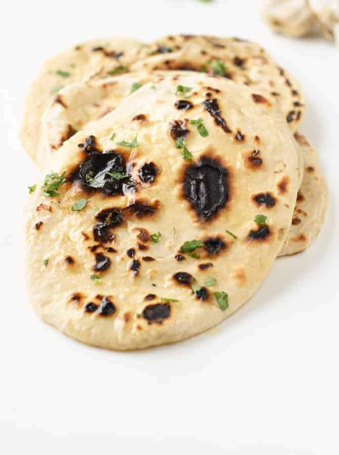 Vegan Naan Bread No Yeast No Yogurt