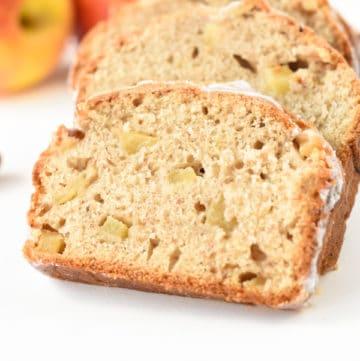 Vegan apple cinnamon bread