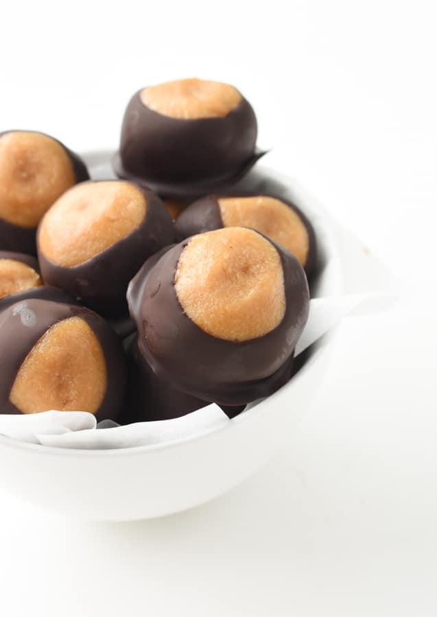 no bake vegan peanut butter balls