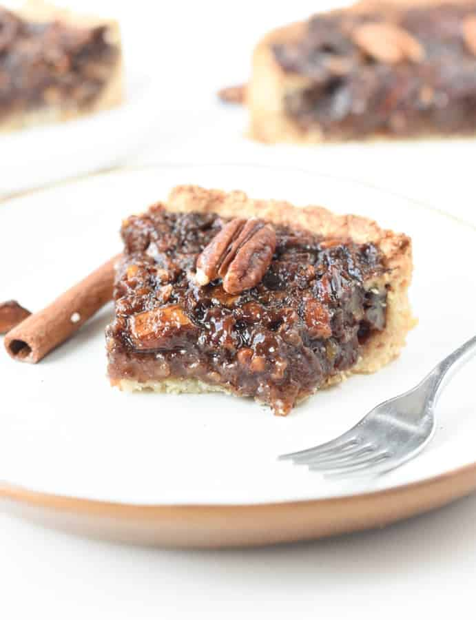 the best Vegan pecan pie