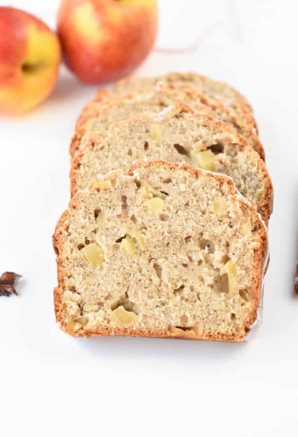 Vegan apple quick bread recipe