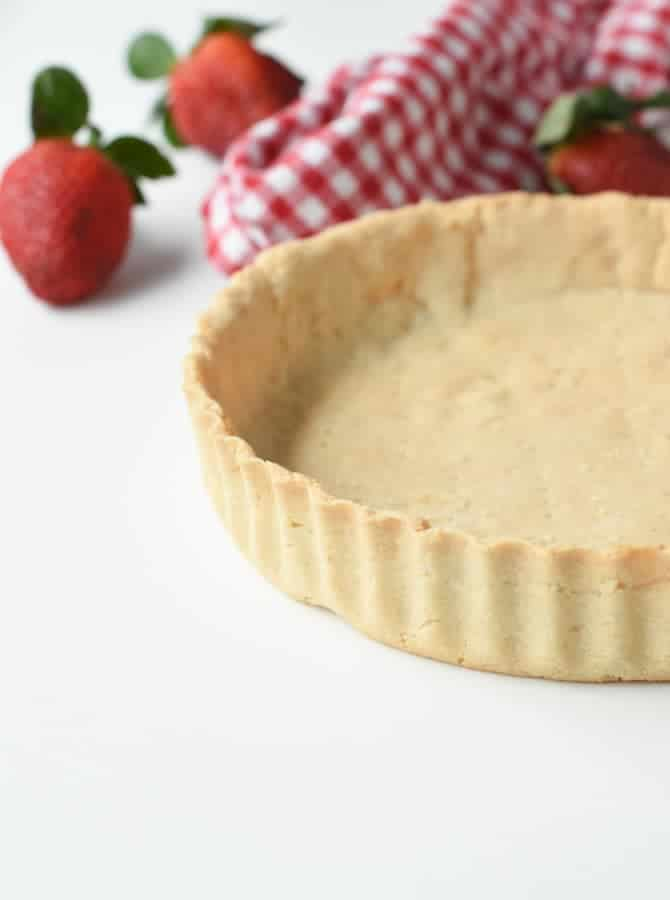 vegan gluten free pie crust with almond flour