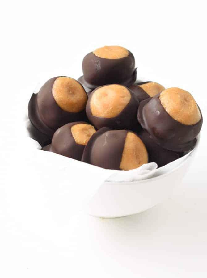 vegan peanut butter balls