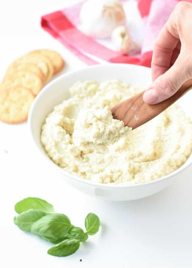 Almond ricotta recipe