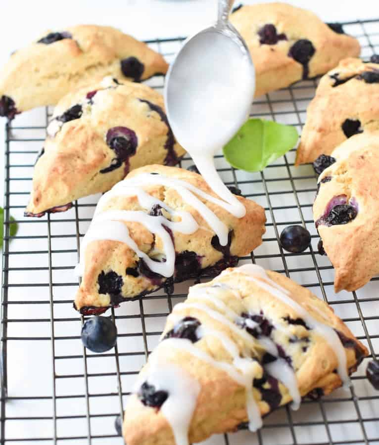 Easy scones vegan