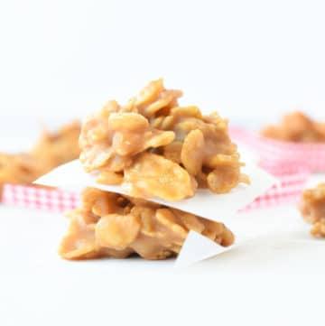 No bake healthy corn flakes cookies