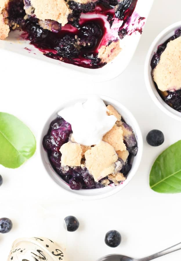 Vegan Berry Cobbler