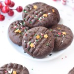 Chocolate peanut butter cookies healthy