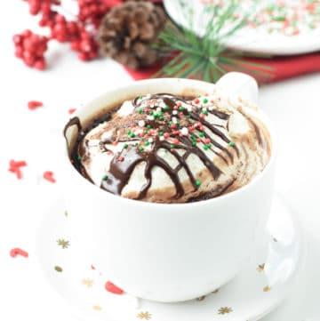 Vegan Protein hot chocolate recipeVegan Protein hot chocolate recipe