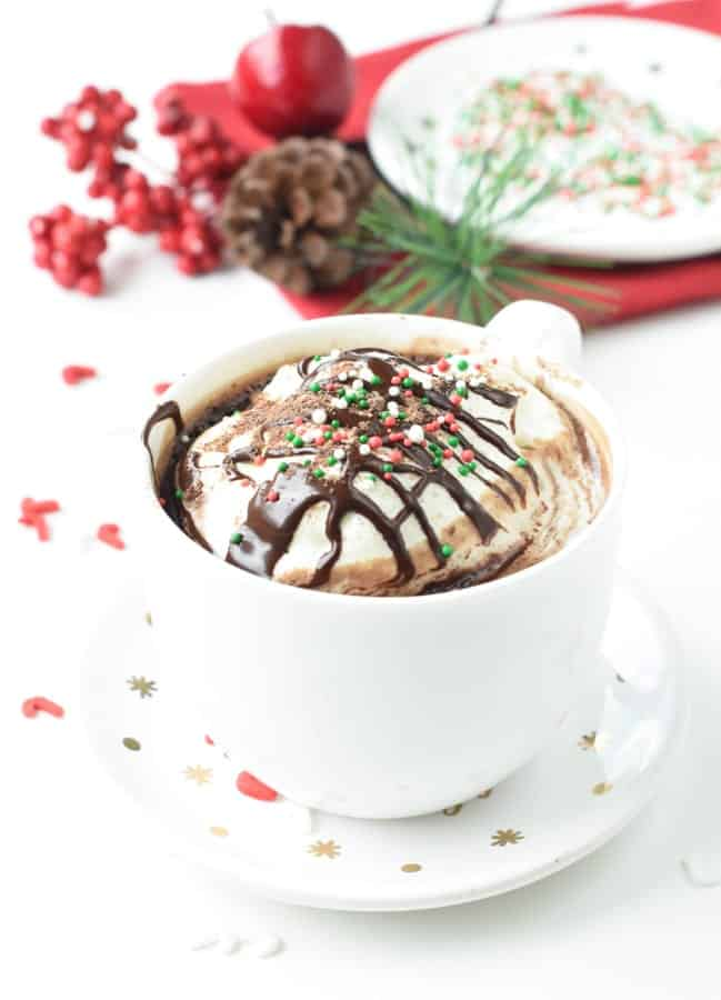 Protein Hot Chocolate With Protein Powder And 4 Ingredients Tcpk